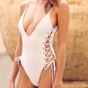 Blue Life All Roped Up Mermaid one piece